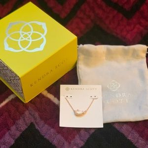 New w/Box Kendra Scott Rose Gold Tansy Necklace
